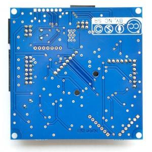 Sensor-Board hinten